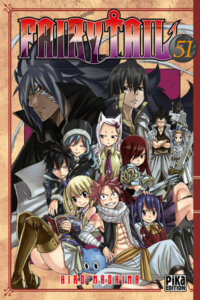 Couverture Fairy tail tome 51