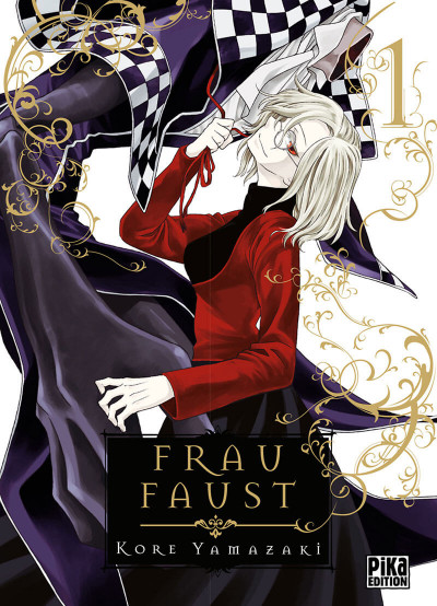 Couverture Frau faust tome 1