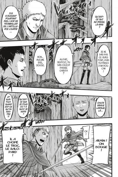 Page 8 L'attaque des titans - édition colossale tome 3