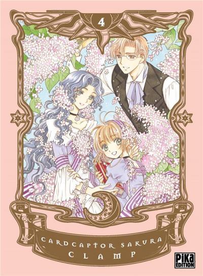 Couverture Card captor Sakura tome 4