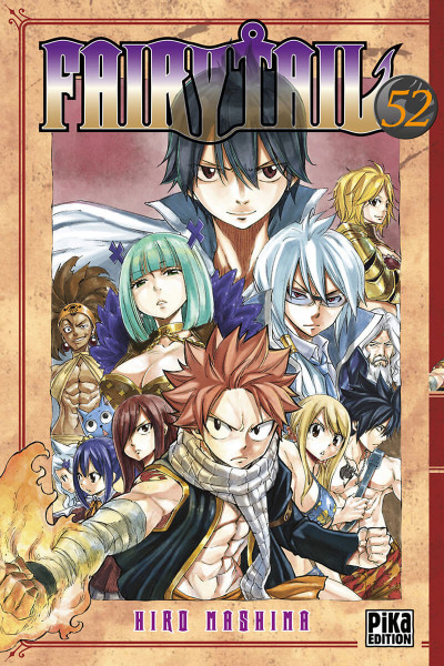 Couverture Fairy tail tome 52