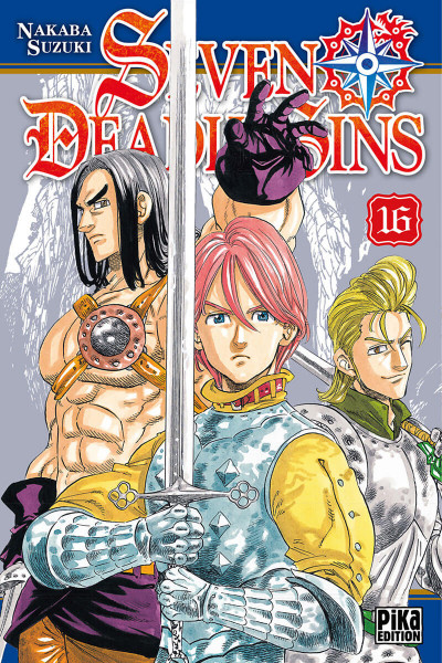 Couverture Seven deadly sins tome 16