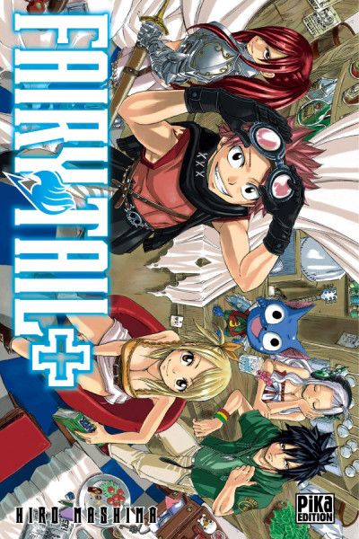 Couverture Fairy tail +