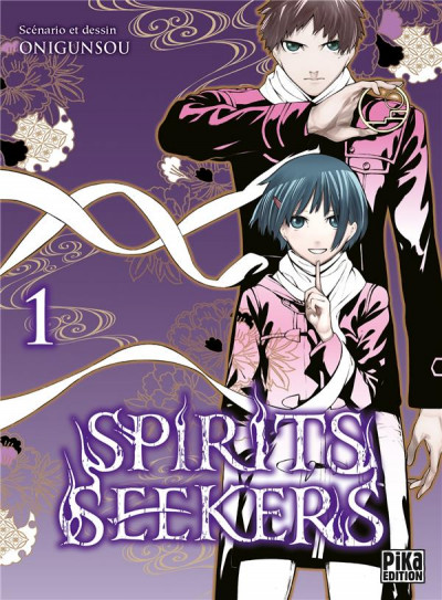 Couverture Spirit seekers tome 1