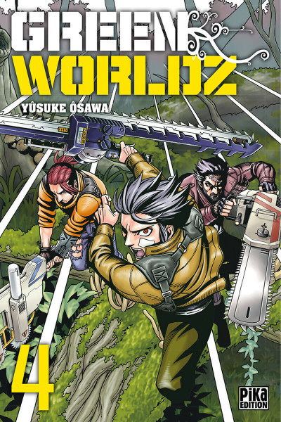 Couverture Green worldz tome 4