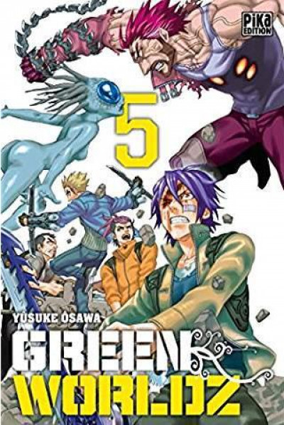 Couverture Green worldz tome 5