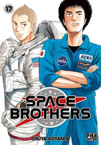 Couverture Space brothers tome 17