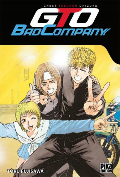 Couverture GTO - Bad company