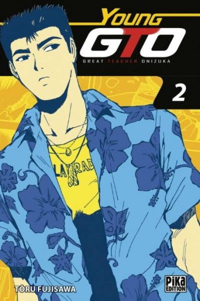 Couverture Young GTO - volume double tome 2