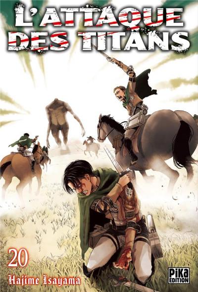 Couverture L'attaque des titans tome 20