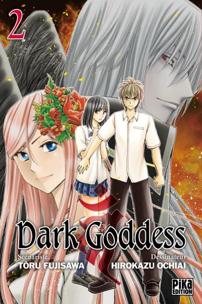 Couverture Dark goddess tome 2