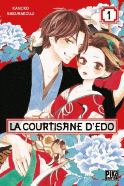 Couverture La courtisane d'Edo tome 1