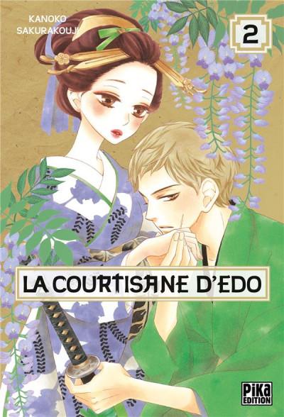 Couverture La courtisane d'Edo tome 2