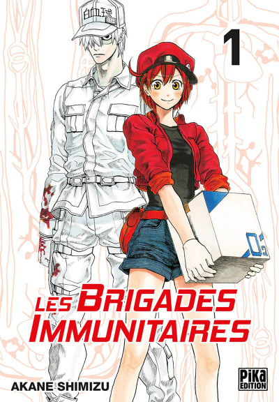 Couverture Les brigades immunitaires tome 1