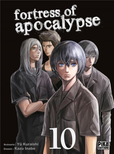 Couverture Fortress of apocalypse tome 10