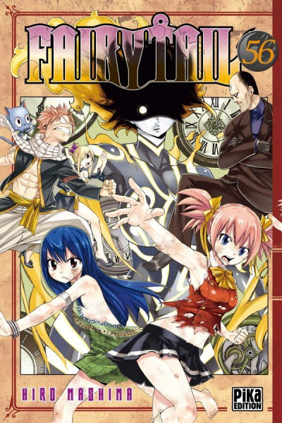 Couverture Fairy Tail tome 56