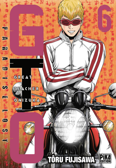 Couverture Gto - Paradise lost tome 6