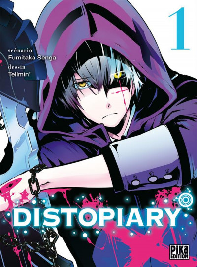 Couverture Distopiary tome 1