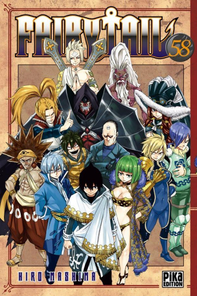 Couverture Fairy Tail tome 58