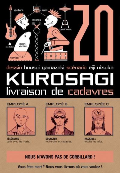 Couverture Kurosagi, livraison de cadavres tome 20