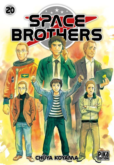 Couverture Space brothers tome 20