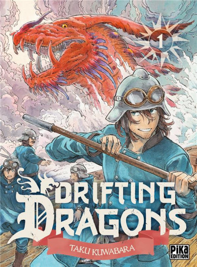 Couverture Drifting dragons tome 1