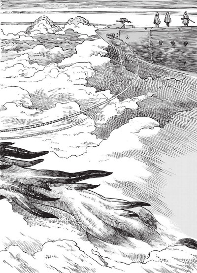 Page 8 Drifting dragons tome 1