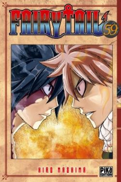 Couverture Fairy tail tome 59