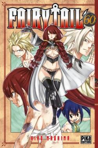 Couverture Fairy tail tome 60