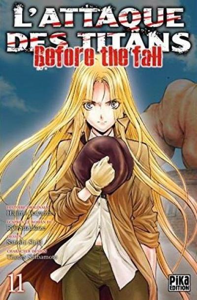 Couverture L'attaque des titans - before the fall tome 11