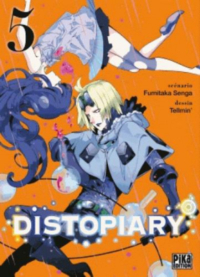Couverture Distopiary tome 5