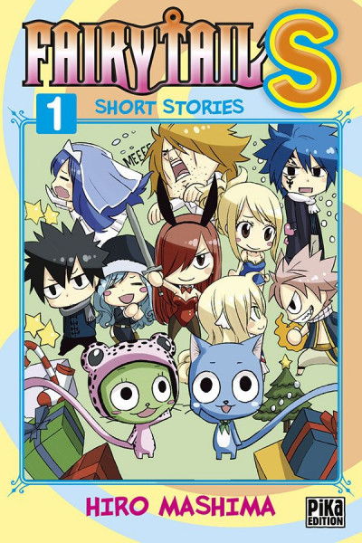 Couverture Fairy tail S tome 1