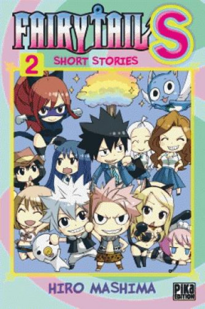 Couverture Fairy Tail S tome 2
