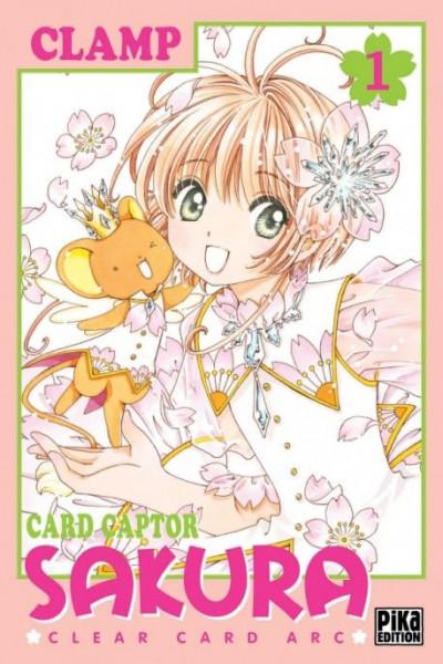 Couverture Card captor Sakura - clear card arc tome 1