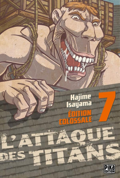 Couverture L'attaque des titans - édition colossale tome 7