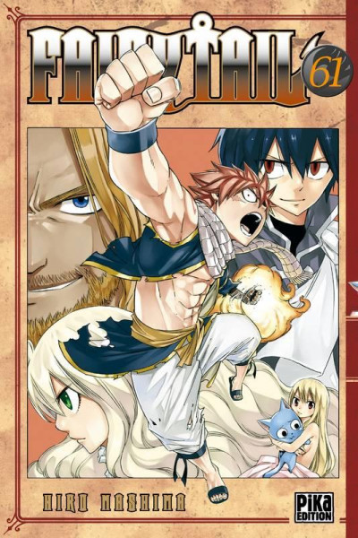 Couverture Fairy tail tome 61