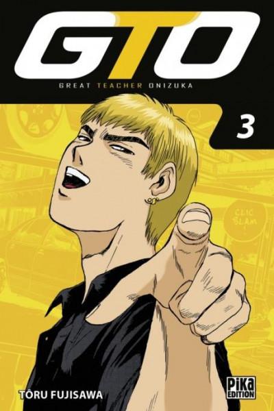 Couverture GTO - édition 2017 tome 3