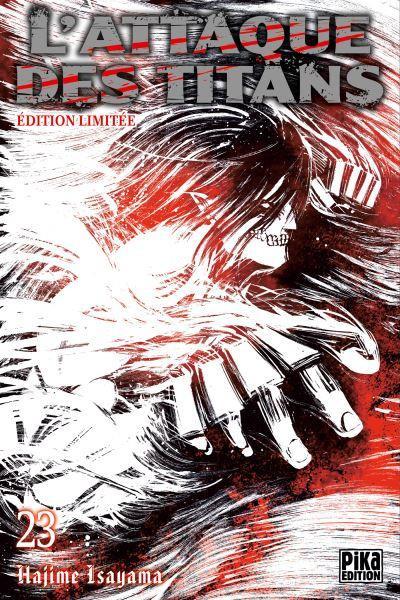 Couverture L'attaque des titans - édition limitée tome 23