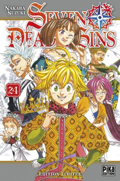 Couverture Seven deadly sins - édition limitée tome 24