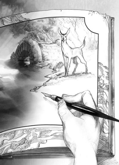 Page 4 L'atelier des sorciers tome 1