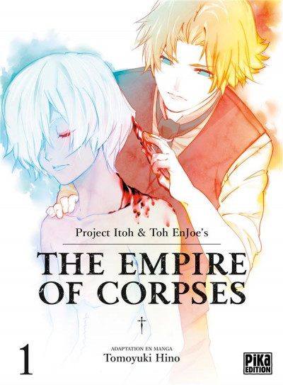 Couverture The empire of corpses tome 1
