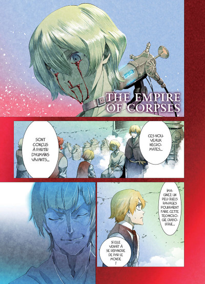 Page 1 The empire of corpses tome 2
