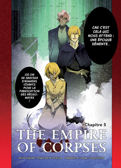 Page 2 The empire of corpses tome 2