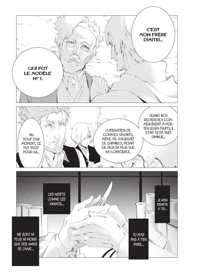 Page 7 The empire of corpses tome 2
