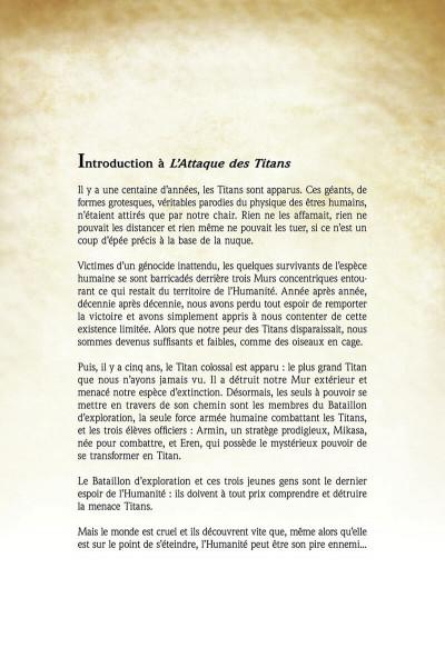 Page 8 L'attaque des titans - anthologie