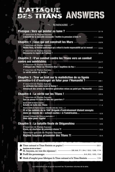 Page 3 L'attaque des titans -  answers