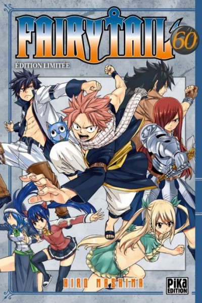 Couverture Fairy tail - édition collector tome 60