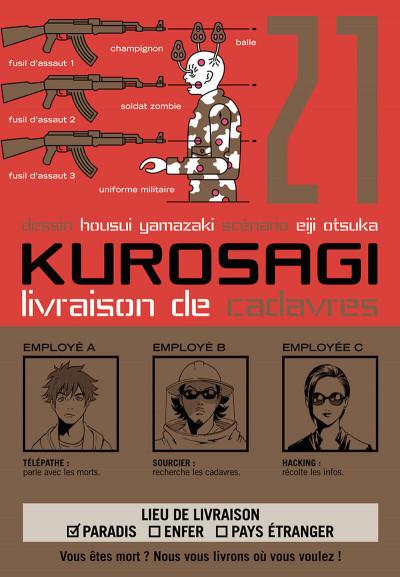 Couverture Kurosagi, livraison de cadavres tome 21