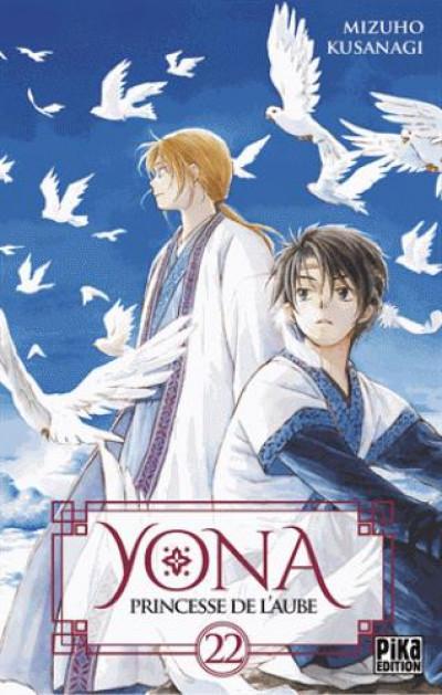 Couverture Yona, princesse de l'aube tome 22