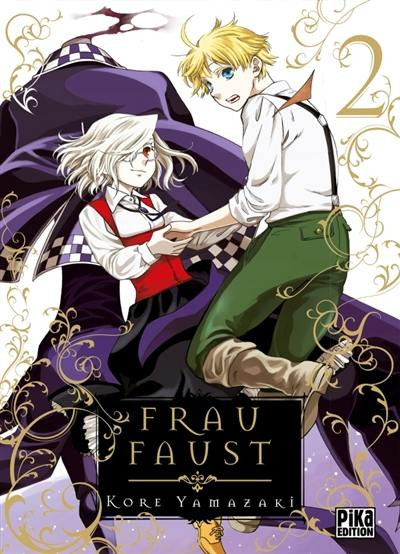 Couverture Frau Faust tome 2